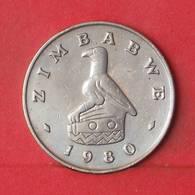 ZIMBABWE 50 CENTS 1980 -    KM# 5 - (Nº35129) - Zimbabwe