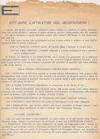 DOPOGUERRA VOLANTINO VIVA L'EUROPA UNITA AI LAVORATORI DEL MEZZOGIORNO - Vieux Papiers
