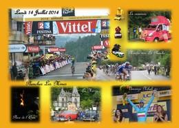 Tour De France 14 Juillet 2014 Arrivée Plancher Les Mines La Planche Des Belles Filles Vincenzo NIBALI - France