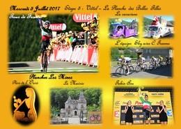Tour De France 5 Juillet 2017  Arrivée Plancher Les Mines La Planche Des Belles Filles Fabio Aru - France