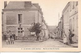 72     Le Grand Lucé       Rue St-facile & Mairie - Le Grand Luce