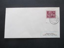 BRD 1955 Nr. 216 Schlacht Auf Dem Lechfeld Marke Vom Unterrand FDC - [7] Federal Republic