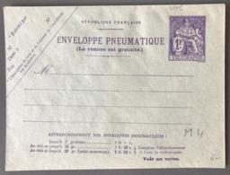 France Entier Pneumatique (Chapelain) N°2775 - (W1172) - Entiers Postaux
