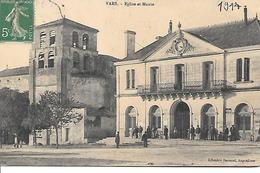 01    Vars      Place De La Mairie & L'église - France