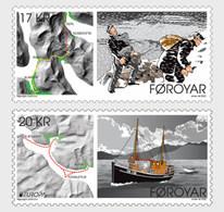Faeroër / Faroes - Postfris / MNH - Complete Set Europa, Oude Postroutes 2020 - Faroe Islands