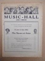CIRQUE    MUSIC - HALL   1954  N° 157 - Livres, BD, Revues