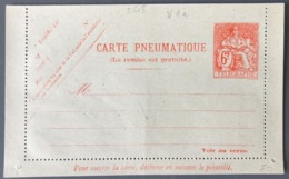 France Entier Pneumatique (Chapelain) N°2608 - (W1195) - Neumáticos