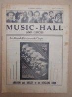CIRQUE    MUSIC - HALL   1954  N° 156 - Livres, BD, Revues