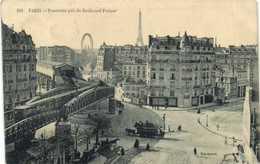 PARIS  Panorama Pris Du Boulevard Pasteur Métro Aérien Diligence RV - District 15