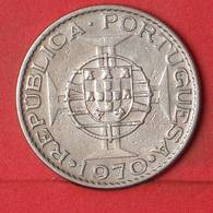MOZAMBIQUE 10 ESCUDOS 1970 -    KM# 79b - (Nº35141) - Mozambique