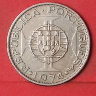 MOZAMBIQUE 10 ESCUDOS 1974 -    KM# 79b - (Nº35142) - Mozambique