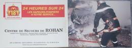 Petit Calendrier Poche  1999  Sapeurs Pompiers   Centre De Secours De Rohan - Calendars