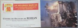 Petit Calendrier Poche  1998  Sapeurs Pompiers   Centre De Secours De Rohan - Calendars