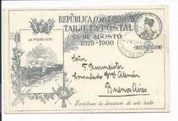 Uruguay  P  50 ** - 2 Ctv Unabhängigkeits-Erinnerungs-Ganzsache V. Rio Negro N. Buenos Aires O.T. Verwendet - Uruguay