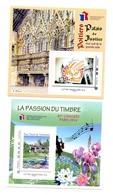FRANCE - 2 Blocs Adhésifs FFAP Paris Et Poitiers 2014 - Neuf** - FFAP