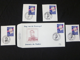 "BELG.1994 2550 FDC (Bilzen) : "" Journée Du Timbre / Dag Van De Postzegel "" & Serie 1 ° Day On Fragment - 1991-00"