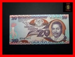 TANZANIA 20 Shilingi 1986 P. 15  UNC - Tanzanie