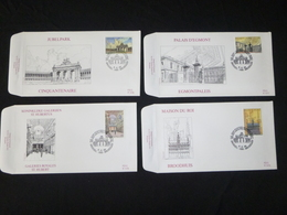 "BELG.1996 2642 2643 2644 & 2645  FDC's (Bruxs) : "" Bruxelles, Coeur De L'Europe /Brussel, Hart Van Europa "" - FDC"