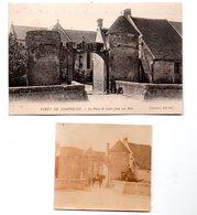 Saint Jean Aux Bois (60 Oise) La Porte (+ Petite Photo Originale Du Même Endroit) (PPP22761) - Other Municipalities