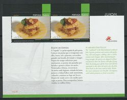 (!)  Timbre EUROPA CEPT De 2005  Thème La Gastronomie  MADERE MADEIRE  Y&T  Bloc BF 30 Neuf(s) ** Mnh - 2005
