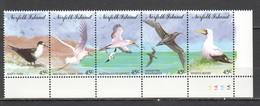 D1378 1994 NORFOLK ISLAND FAUNA BIRDS #569-73 1SET MNH - Oiseaux