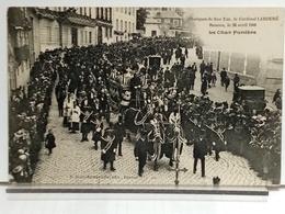 35 - RENNES - OBSEQUES DE SON EM. LE CARDINAL LABOURÉ LE 26 AVRIL 1906 - LE CHAR FUNEBRE - Rennes