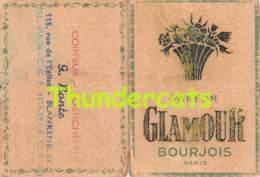 CALENDRIER KALENDER 1959 PARFUM GLAMOUR BOURJOIS PARIS COIFFEUR BLANKENBERGHE BLANKENBERGE - Calendriers