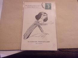 Greve Des Ptt Par Morer .le Camarade Tristan Lamy De Rouen THE STRIKE OF THE PTT MORER - Post & Briefboten