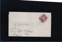 CG37 - Lettera Da Varese Per Besozzo 4/3/1876 - Marcophilia