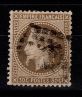 Lauré - YV 30 Oblitere TTB Cote 25 Euros - 1863-1870 Napoleon III With Laurels