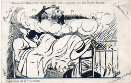"""MICH - Le Rêve De La """" Midinette"""" Marche Des Midinettes Du 25 Octobre 1903 Par """"Le Monde Sportif""""  (464 ASO) - Mich"""
