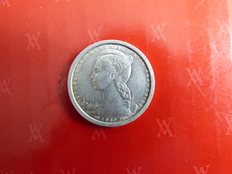 Rare 2 Francs Somalis 1949 Sup - Colonies