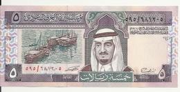 ARABIE SAOUDITE 5 RIYALS 1983 UNC P 22 - Saudi-Arabien