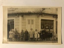 Jaligny Allier 03  Carte Photo D'un Café En 1927  Pub Pour Bière Gangloff Sur Devanture - Autres Communes