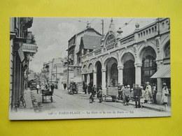 Le Touquet  , Gare Et Rue De Paris - Le Touquet