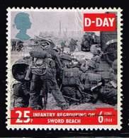 GB 1994, Michel# 1520 O  50th Anniversary Of D-Day - 1952-.... (Elizabeth II)