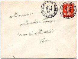 PARIS 1913  = CACHET TEMPORAIRE ' EXPon PHILATELIQUE INTERNle ' Sur ENVELOPPE ENTIERE - Marcophilie (Lettres)