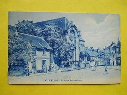 Bayeux ,place Saint-Patrice ,tramway - Bayeux