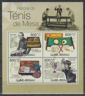 K379. Guinea-Bissau - MNH - 2012 - Sports - Table Tennis - Altri
