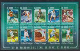R379. Sao Tome & Principe - MNH - 2014 - Sports - Tennis - Timbres