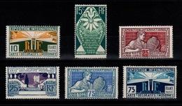 Arts Décoratifs 1927 YV 210 à 215 N** Tres Frais Et Décemment Centrés Cote 60 Euros + 50% - Nuovi