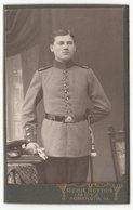 0299 CDV Photografie: Gebr. Notton, Metz - Portrait, Junger Deutscher Soldat Uniform Militär - Guerre, Militaire