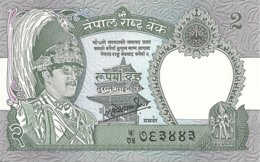 NEPAL 2 RUPEES 1981 UNC P 29 - Nepal