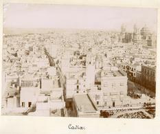 Albumen Photo - Cádiz, Andalucia, SPAIN (22.5 X 16.5cm) - Alte (vor 1900)