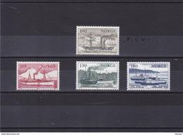 NORVEGE 1977 BATEAUX Yvert  703-706 NEUF** MNH - Norwegen