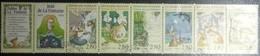 Variété  N° 2964 Bande Fable De La Fontaine Fond Jaune Au Lieu De Rosé - Curiosidades: 1980-89 Usados