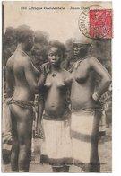 L130A865 - Scènes Et Types - Afrique Occidentale -  Jeunes Ebries  - AOE Fortier Dakar N°1308 - Afrika
