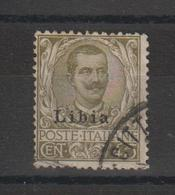 Libye 1912-17 Victor Emmanuel III 9 Oblit. Used - Libye