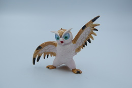 Vintage FIGURE : HEIMO Bambi Friend Owl - 1960-70's - RaRe  - Figuur - Walt Disney Productions - PVC - Figurines