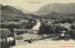 Vallée De L'Aude QUILLAN  Vue Generale Sur L'Aude Et La Ville RV Labouche - Frankreich